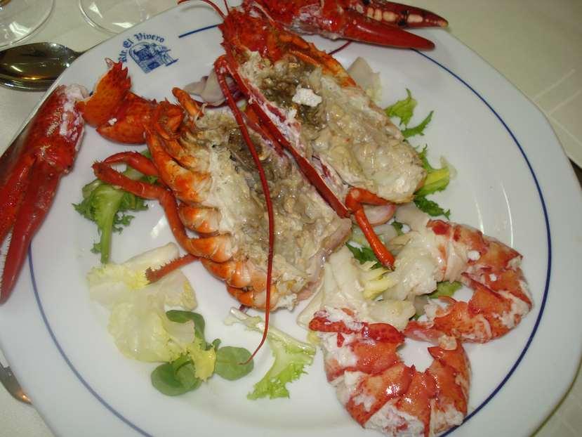 Crea tu menu restaurante finca el vivero - Salsa para bogavante cocido ...