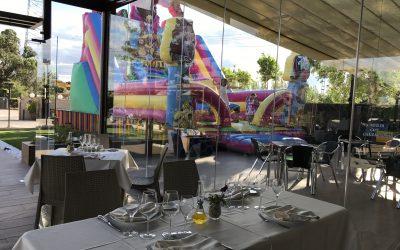Menus desde 21 € en Terraza acristalada – Brunete