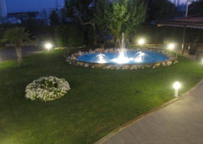jardines noche salon