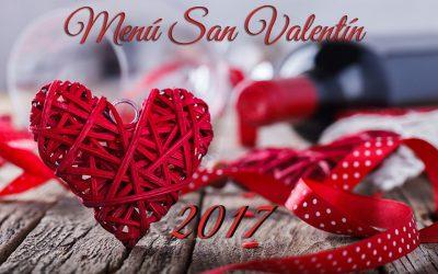Hoy Viernes 10 de Febrero también  disfrutar de los menús de San Valentín