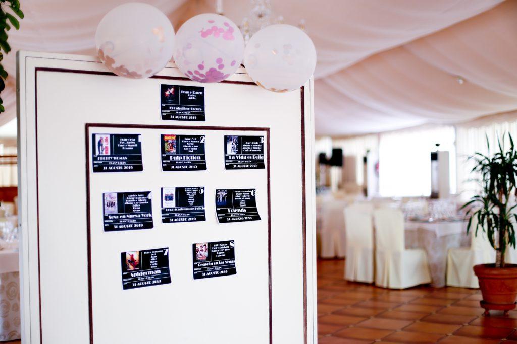 carpa de bodas El Vivero